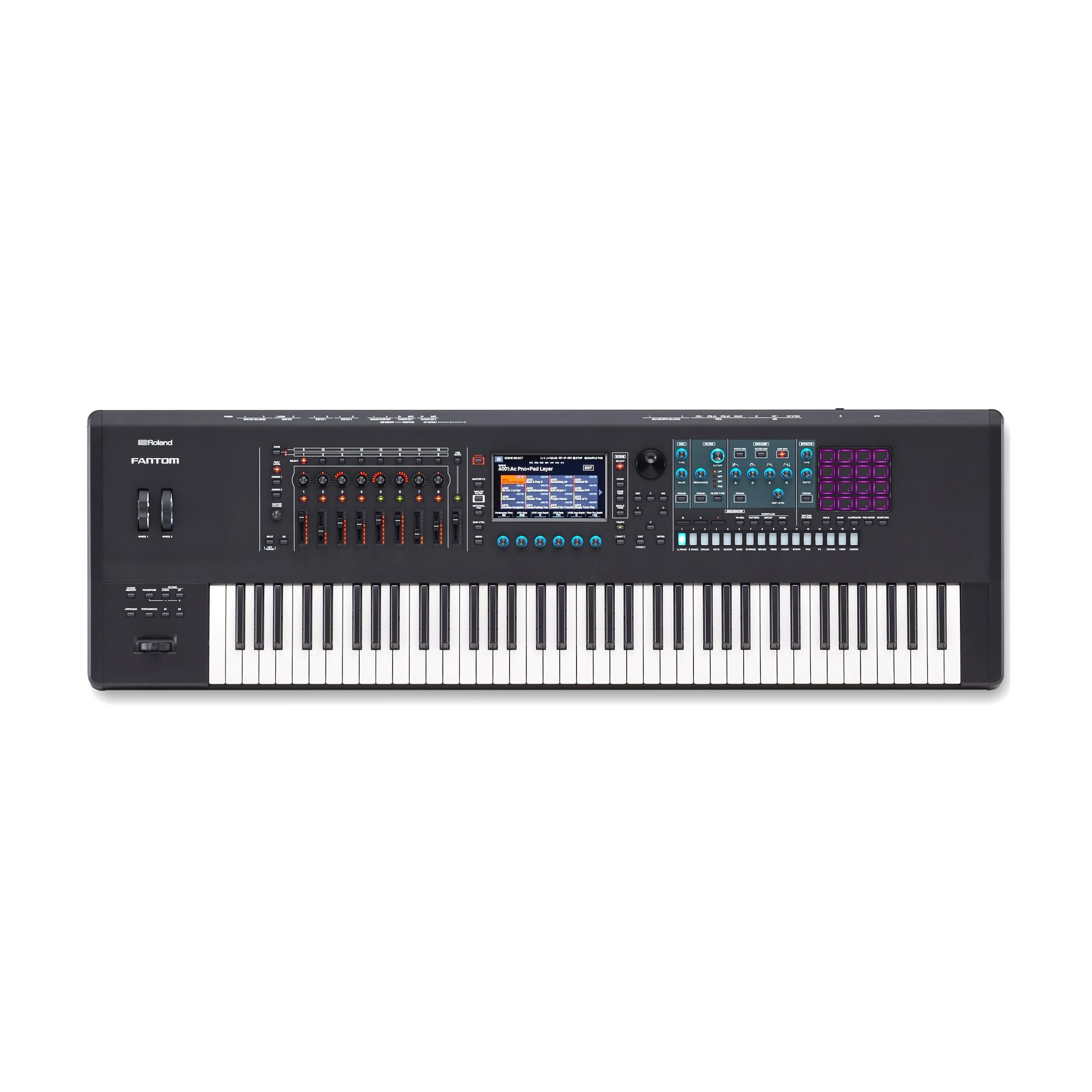 Roland Fantom-7 Synthesizer Workstation Keyboard