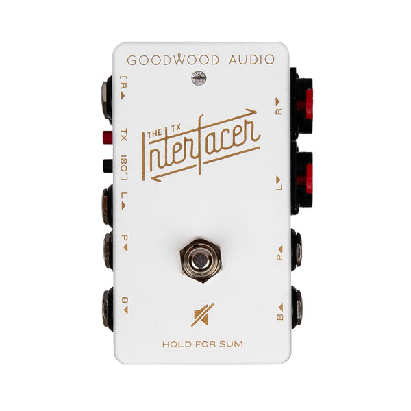 Goodwood Audio Interfacer TX, Limited Edition White