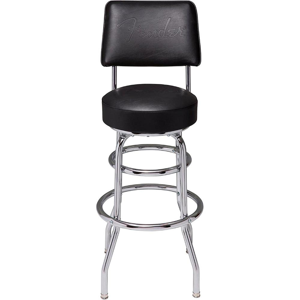 "Fender 9100335000 30"" BLACKOUT BACKREST BARSTOOL"
