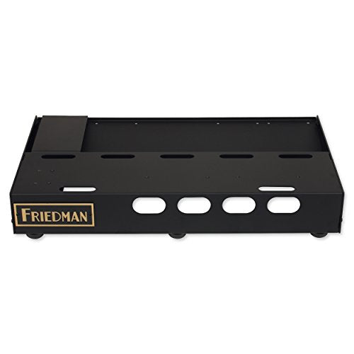 "Friedman Tour Pro 1525 Platinum Pack 15"" x 25"" Pedal Board with Riser, Professional Carrying Bag, Power Grid 10 & Buffer Bay 6"