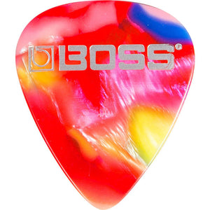 Boss BPK-72-MT Celluloid Pick, Mosaic Thin