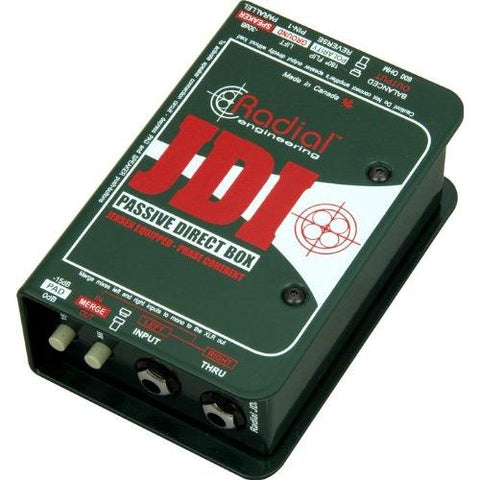 Radial JDI Passive DI with Jensen Transformer