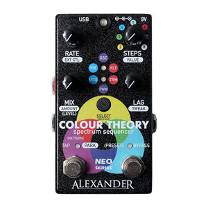 Alexander Pedals Colour Theory Sequencer