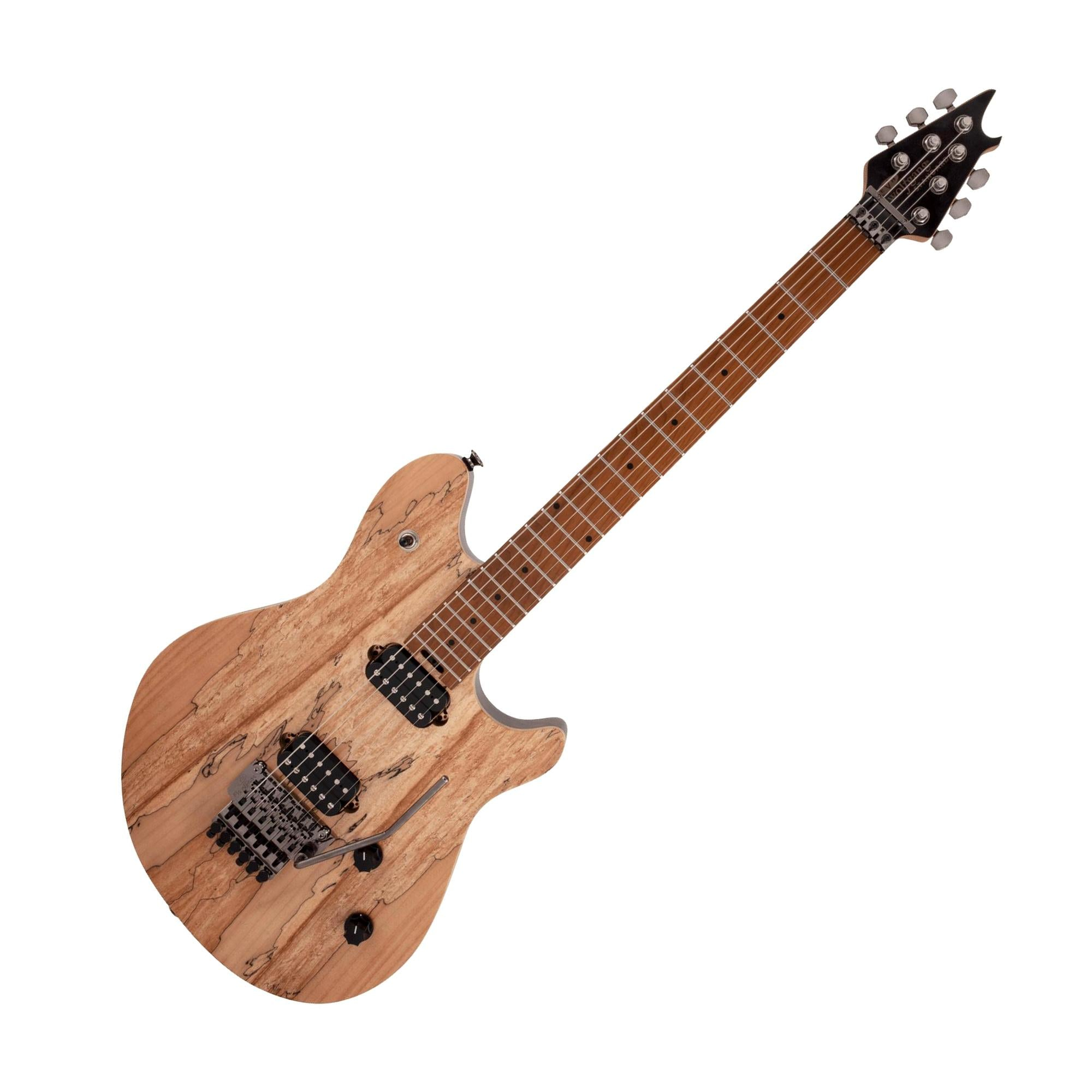 EVH WG Wolfgang Standard w/Floyd Rose, Exotic Spalted Maple Natural