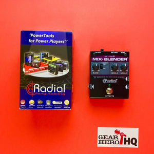 [USED] Radial Mix-Blender Dual Instrument Buffer, Mixer, and FX Loop Interface
