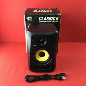 "[USED] KRK CL5G3 Classic G5 Professional Bi-Amp 5"" Powered Studio Monitor"
