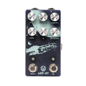 Walrus Audio ARP-87 Multi-Function Delay, Exclusive Purple/Silver