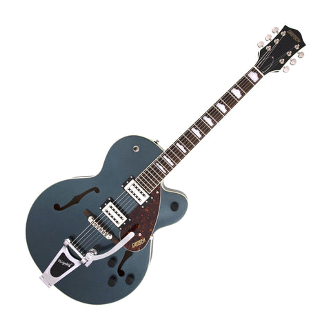 Gretsch G2420T Streamliner Hollow Body w/Bigsby Electric Guitar, Gunmetal