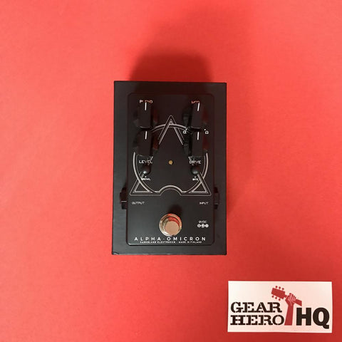 [USED] Darkglass Alpha Omicron Bass Preamp and Overdrive (Limited Edition Black/White)