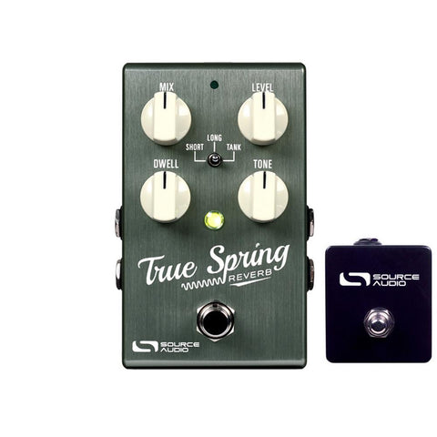 Source Audio SA247 True Spring Reverb w/ Tap Switch