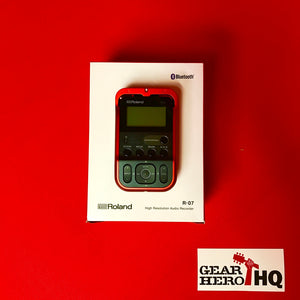 [USED] Roland R-07-RD High Resolution Handheld Field Recorder - Red