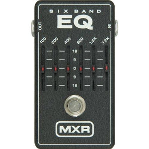 MXR M109 6 Band Graphic EQ Pedal