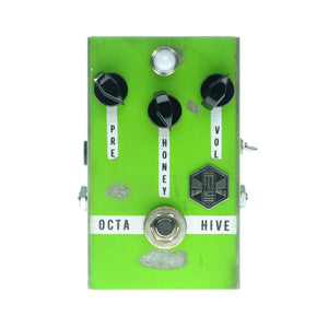 Beetronics OctaHive High Octave Fuzz, Green (Pedal Genie Exclusive)