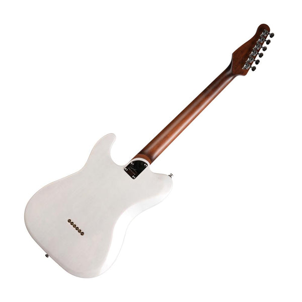 Godin Stadium HT Electric Guitar, Trans White