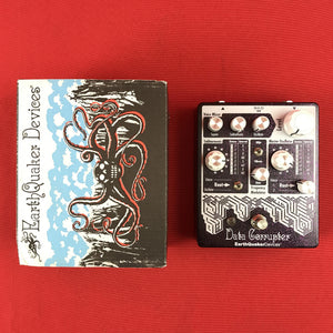 [USED] Earthquaker Devices Data Corrupter Harmonizing PLL Synth, Purple Sparkle (Gear Hero Exclusive)