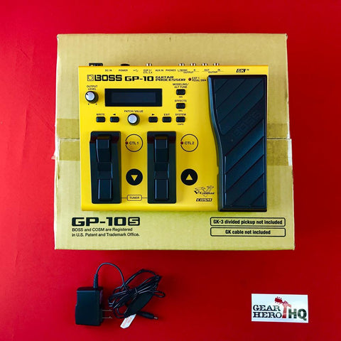 [USED] Boss GP-10S Guitar Processor Without GK-3 Pickup