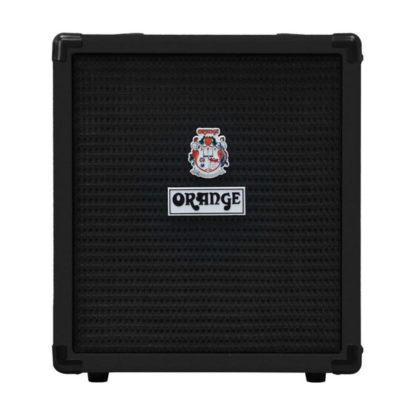 Orange Crush Bass 25 watt Bass Guitar Amp Combo, Black