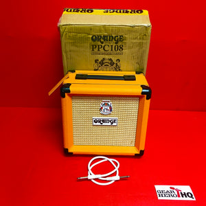 [USED] Orange PPC108 20W 1x8 Closed-Back Guitar Speaker Cabinet