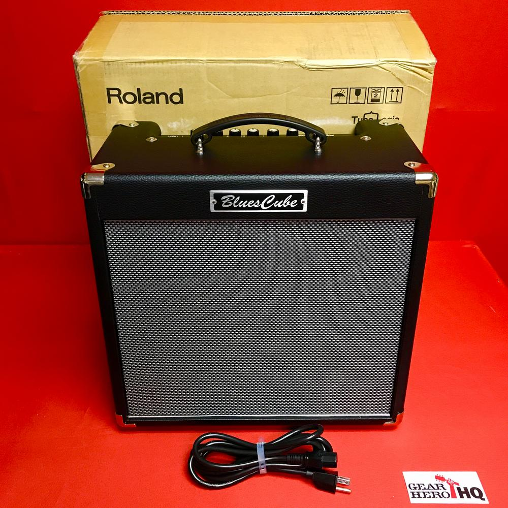 [USED] Roland Blues Cube Hot 30W 1X12 Combo Guitar Amplifier