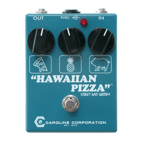 Caroline Hawaiian Pizza Fuzz Overdrive, Reverse (Gear Hero Exclusive)