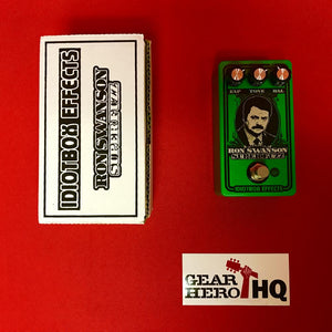 [USED] Idiotbox Ron Swanson Super Fuzz