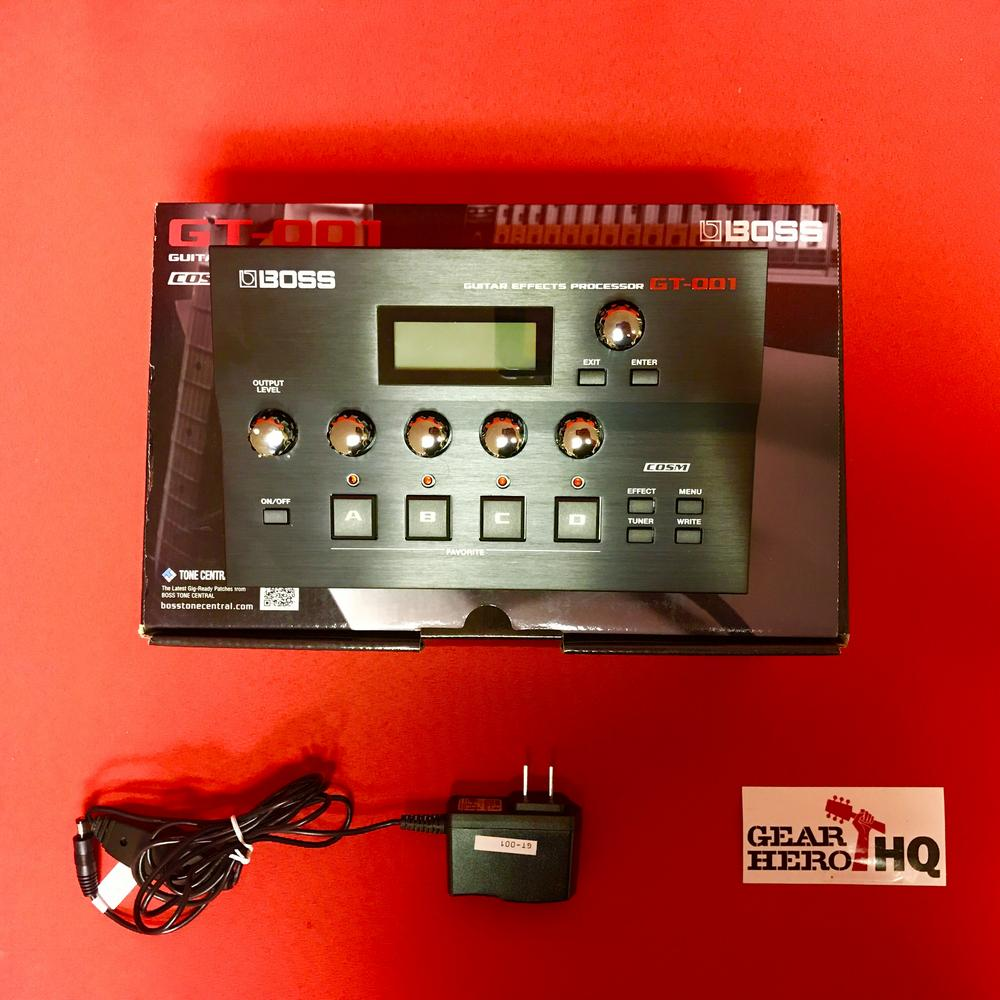 [USED] Boss GT-001 Table Top Guitar Effects Processor