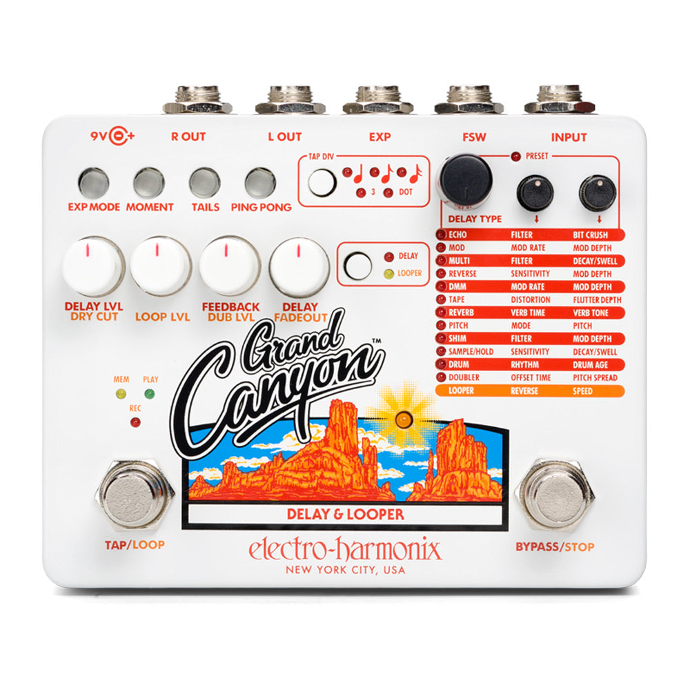 Electro-Harmonix Grand Canyon Delay and Looper