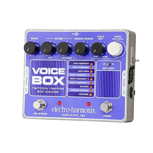 Electro-Harmonix Voice Box Harmony Machine and Vocoder
