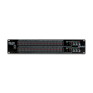 ART HQ231 Two Channel 31 Band Graphic Equalizer
