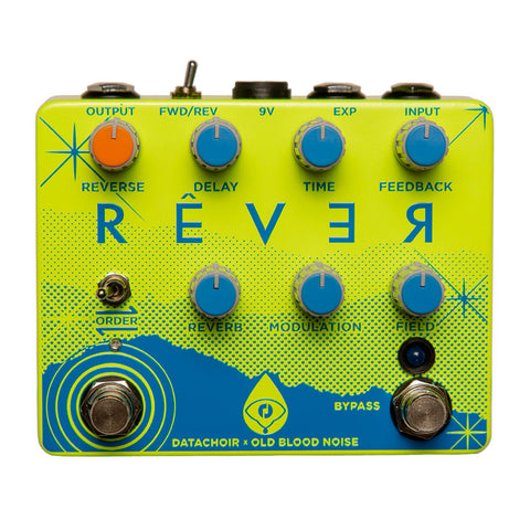 Old Blood Noise Endeavors Rêver Reverse Delay Reverb, Spring Breakers Yellow