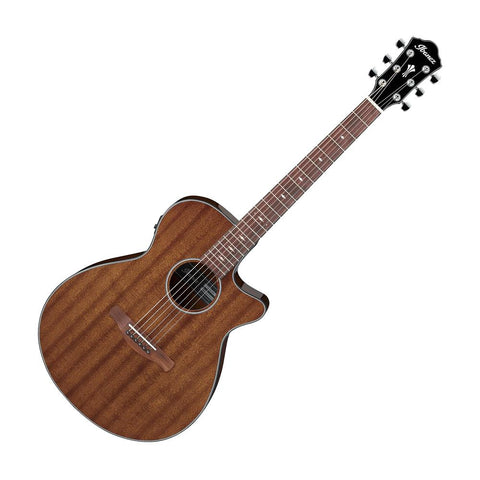 Ibanez AEG62NMH Acoustic Electric Guitar,  Natural Mahogany High Gloss