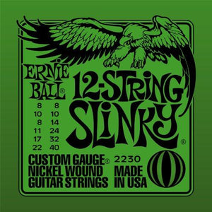 Ernie Ball 2230 12-string Slinky Nickel Wound Set (08 - 40)