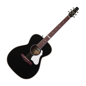 Seagull Artist Limited Anthem EQ Acoustic Electric Guitar, Tuxedo Black