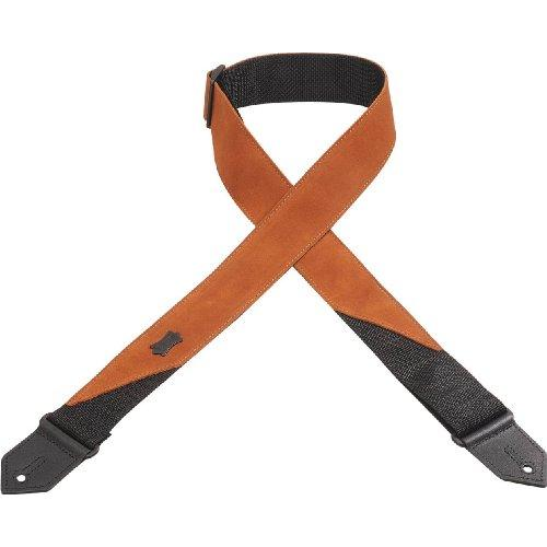 "Levy's 2"" Suede Guitar Strap, Copper"