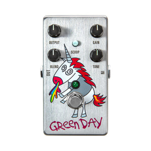 MXR DD25 Green Day Dookie Unicorn Drive V3 Overdrive