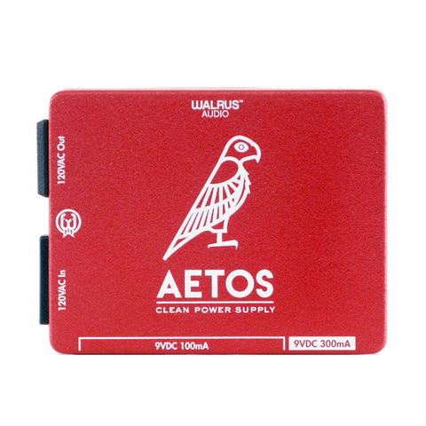Walrus Audio Aetos 8 Output Power Supply, Red/White (Gear Hero Exclusive)