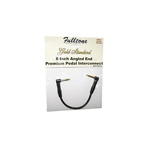 "Fulltone 6"" Angled End Premium Pedal Interconnect Cable"