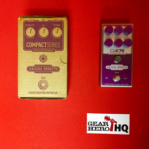 [USED] Origin Effects Cali-76 Compact Deluxe, Purple (Pedal Genie Exclusive)