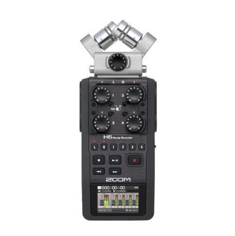 Zoom H6 Zoom H6 6-Track Portable Digital Recorder