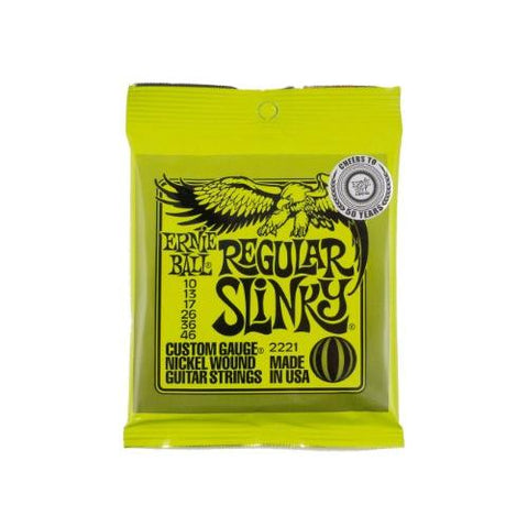 Ernie Ball 2221 Regular Slinky Nickel Wound Set (10 - 46)