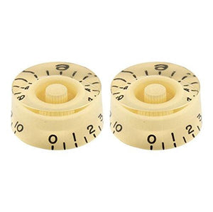 All Parts PK-0130-028 2 Speed Knobs fits US Split Shaft Pots, Cream