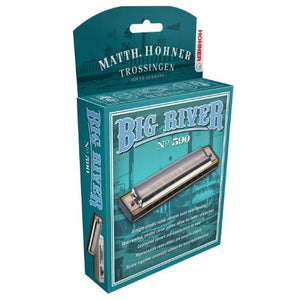 Hohner 590BX-G Big River Harmonica, Key of G