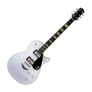 Gretsch G6229 Players Edition Jet BT With V-Stoptail, Silver Sparkle
