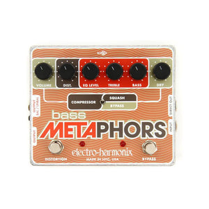 Electro-Harmonix Bass Metaphors Compression Distortion