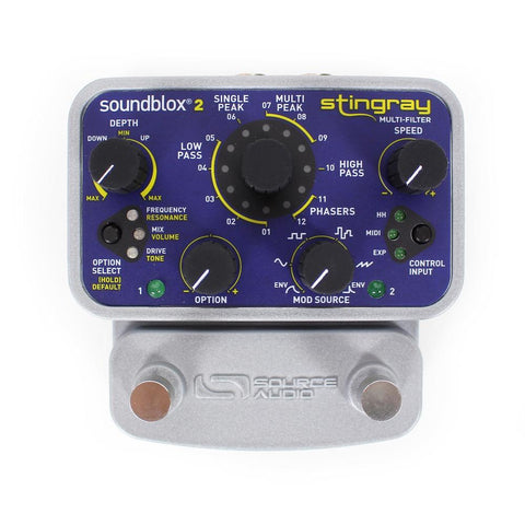 Source Audio SA224 Soundblox 2 Stingray Multi-filter