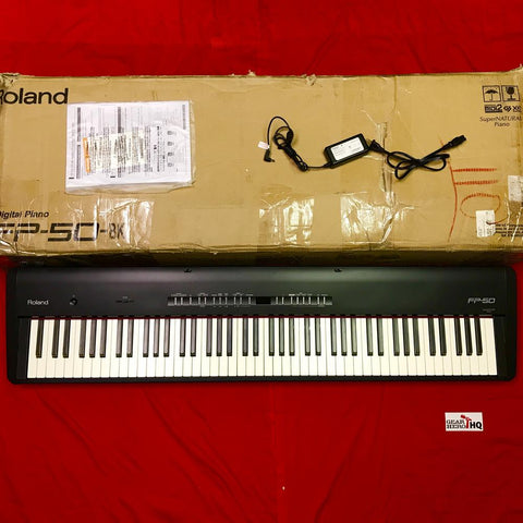 [USED] Roland FP-50 Digital Piano, Black