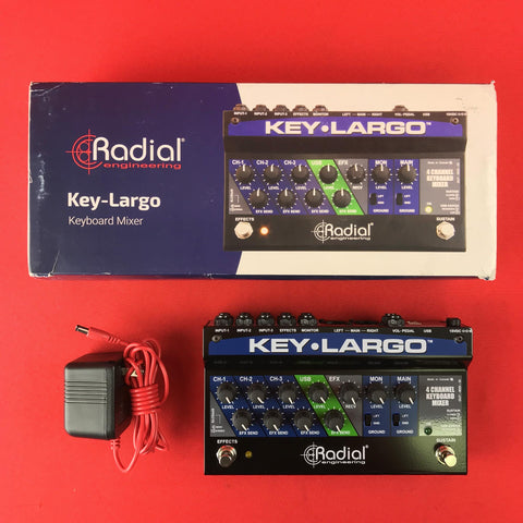 [USED] Radial Key Largo Keyboard Mixer with Balanced DI Outs