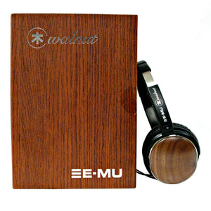 E-MU Walnut Lightweight Audiophile Headphones