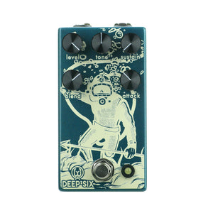 Walrus Audio Deep Six Compressor V3, Teal (Gear Hero Exclusive)