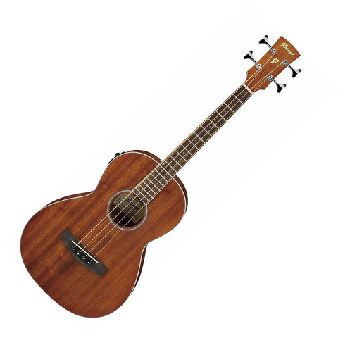 Ibanez PNB14EOPN Performance Series Parlor Acoustic-Electric Bass Guitar, Open Pore Natural